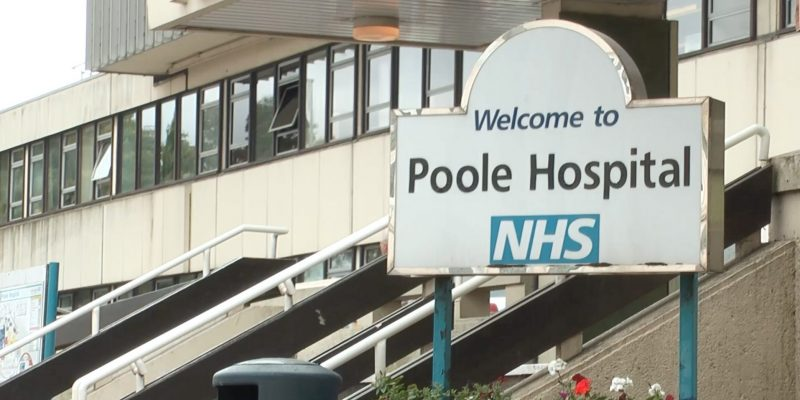 Outside of Poole Hospital