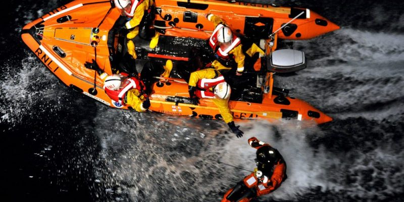 RNLI rescue at sea