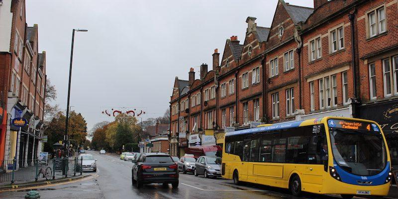 Photo of Wimborne Road.