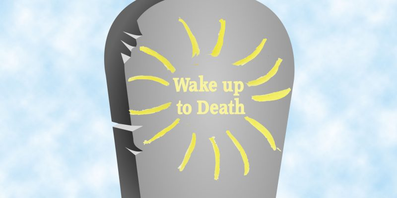 wake up to death logo