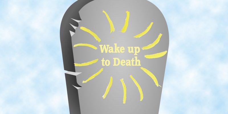 wake up to death logo