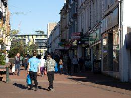 Bournemouth High street shops