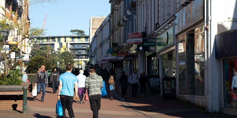 Bournemouth High street shops