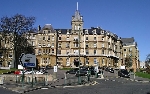 Bournemouth town hall.