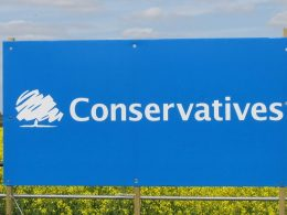 Conservative sign for featured image