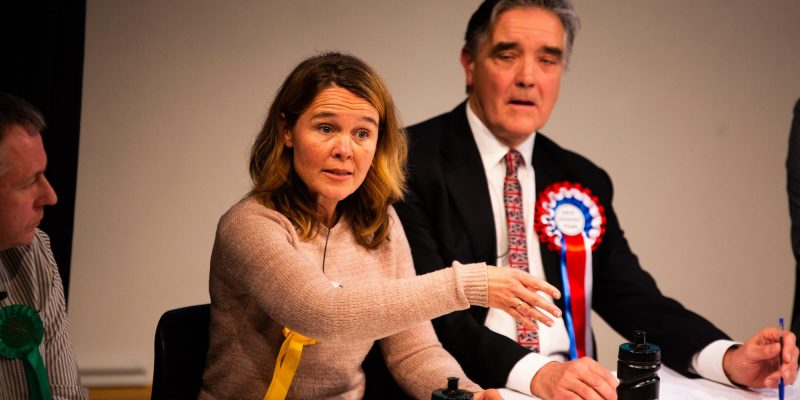 Photo from Bournemouth University's Our Time debate