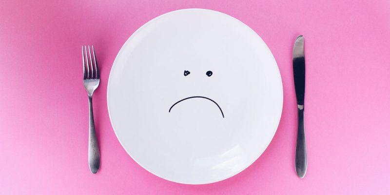 Sad Face Plate by www.quotecatalog.com