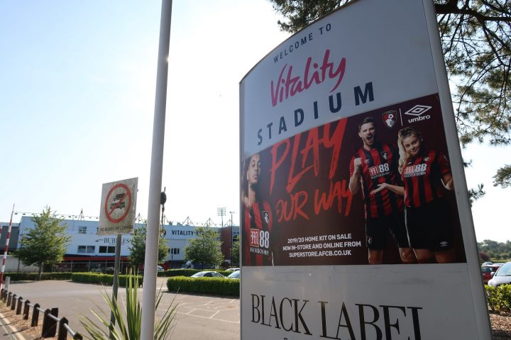 Photo of Vitality Stadium, home of AFC Bournemouth