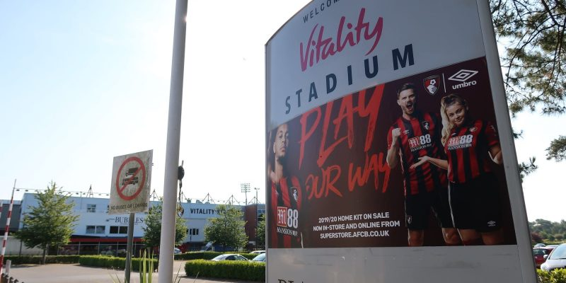 Photo of Vitality Stadium, home of AFC Bournemouth