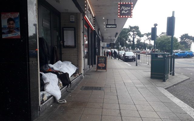 Rough sleeping in Bournemouth