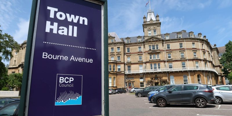 A photo of Bournemouth Town Hall