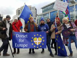 Dorset for Europe protesters at London demonstration attended by over one million people