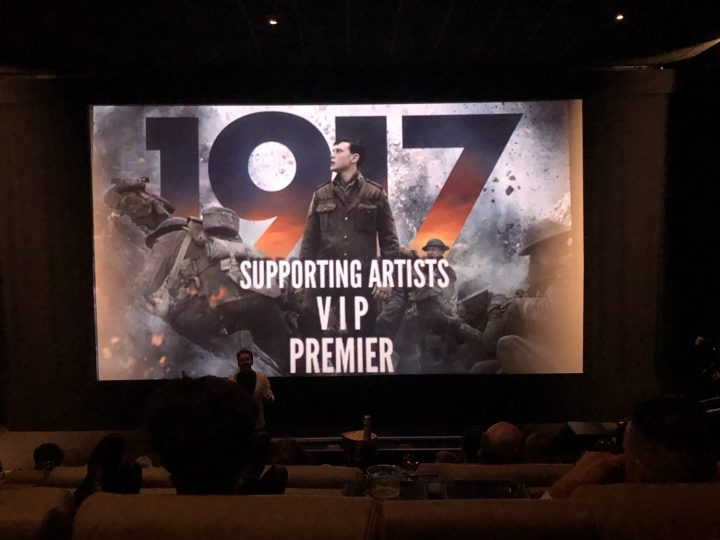 The premiere of the film '1917'