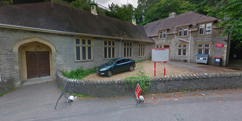 Screenshot of St Stephen's Hall taken from Google Maps.