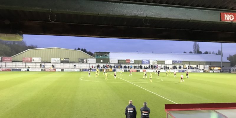 Photo of a Woking FC game