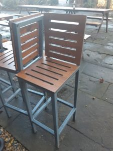 Garden furniture stolen from local pub