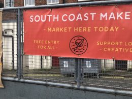 South Coast Makers Market Sign
