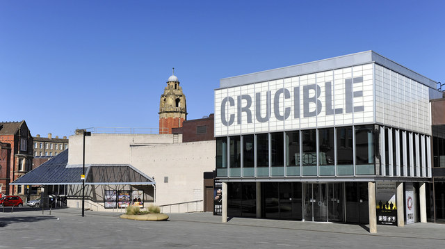 Crucible theatre, Sheffield