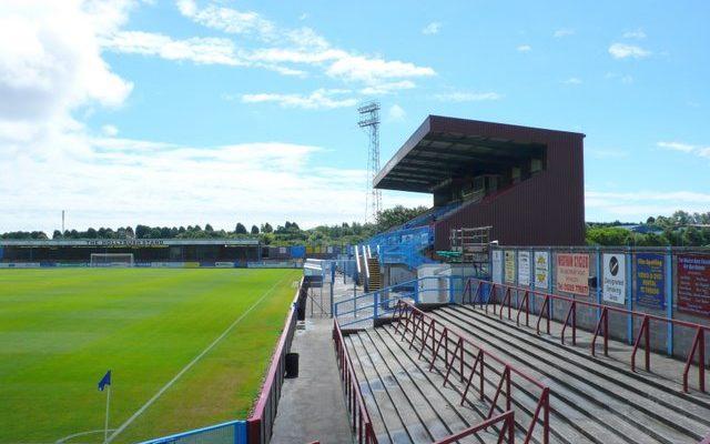 The Bob Lucas Stadium, home of Weymouth FC.