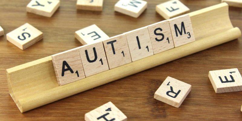 Scrabble tiles spelling Autism