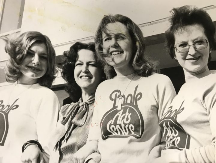 Photo of Poole Arts Centre staff in 1978