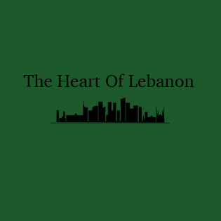 Picture of blog logo - says 'The Heart of Lebanon'