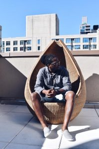 Photograph of Raymond Nyenje