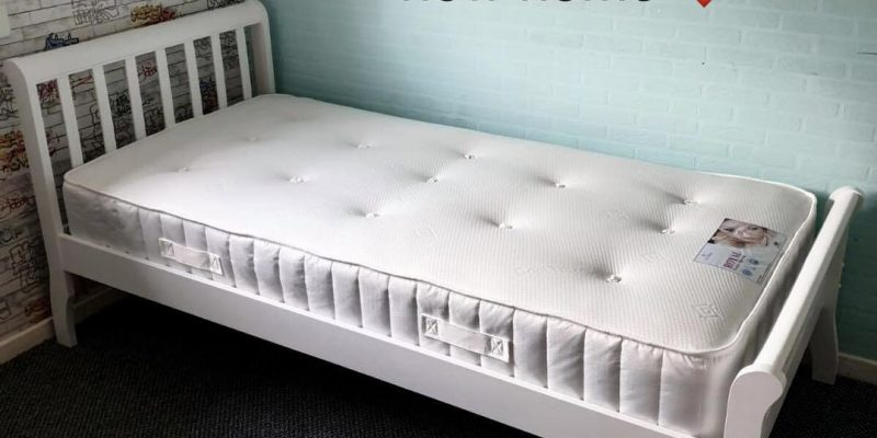 A Zarach bed in its new home.