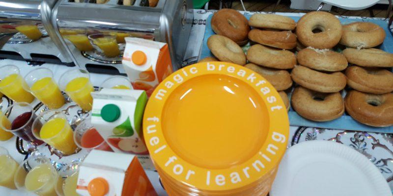 Magic Breakfast food spread