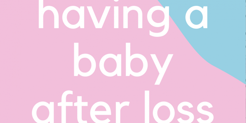 Having a baby after loss logo