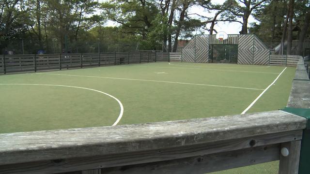 Soft-ground area at Beaucroft Foundation School