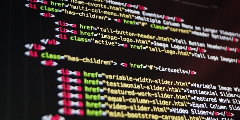 Coding text on a computer screen