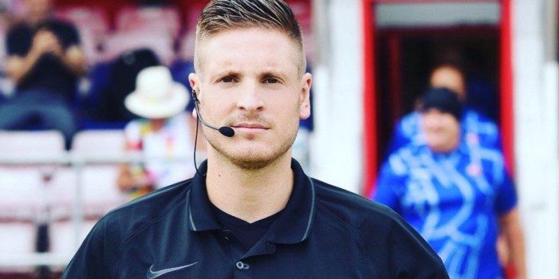 Professional Referee Ryan Atkins
