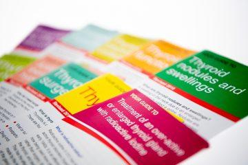 Leaflets on thyroid disorders